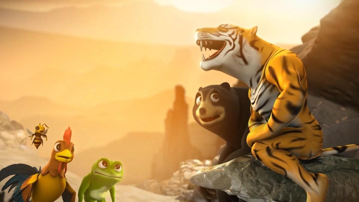 Review phim hoạt hình Bầu trời rực lửa 2019