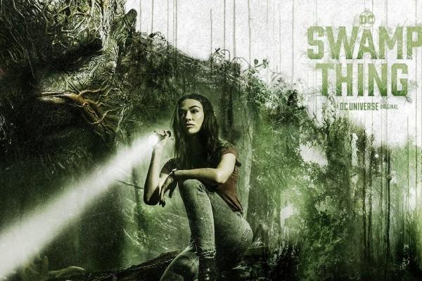 Review phim bộ Swamp Thing - Quái vật đầm lầy (2019)