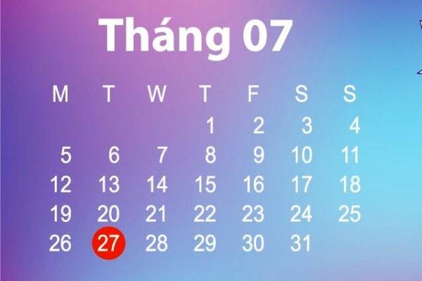 Ngày may mắn trong tháng 7/2021 của 12 chòm sao là ngày nào?