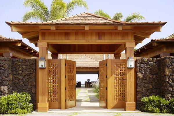 Xây cổng nhà như thế nào đúng phong thủy? để hút tài hút lộc về cho gia chủ