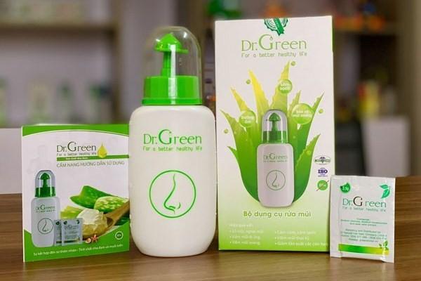 Bình rửa mũi Dr Green có tốt không? Có nên dùng bình rửa mũi Dr Green không?