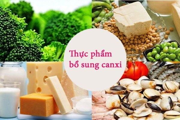 Thực phẩm bổ sung canxi cho hệ xương chắc khỏe