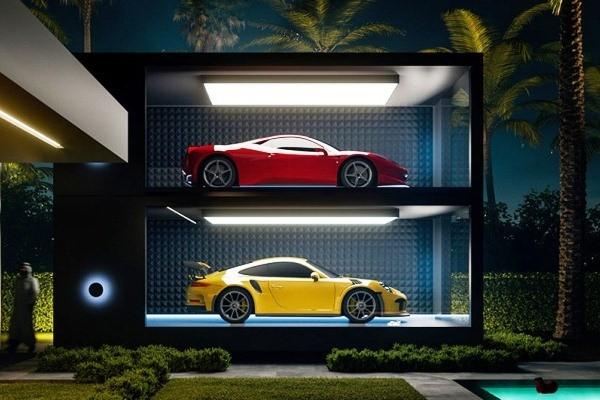 Chiêm ngưỡng garage siêu xe tuyệt vời nhất dành cho giới siêu giàu