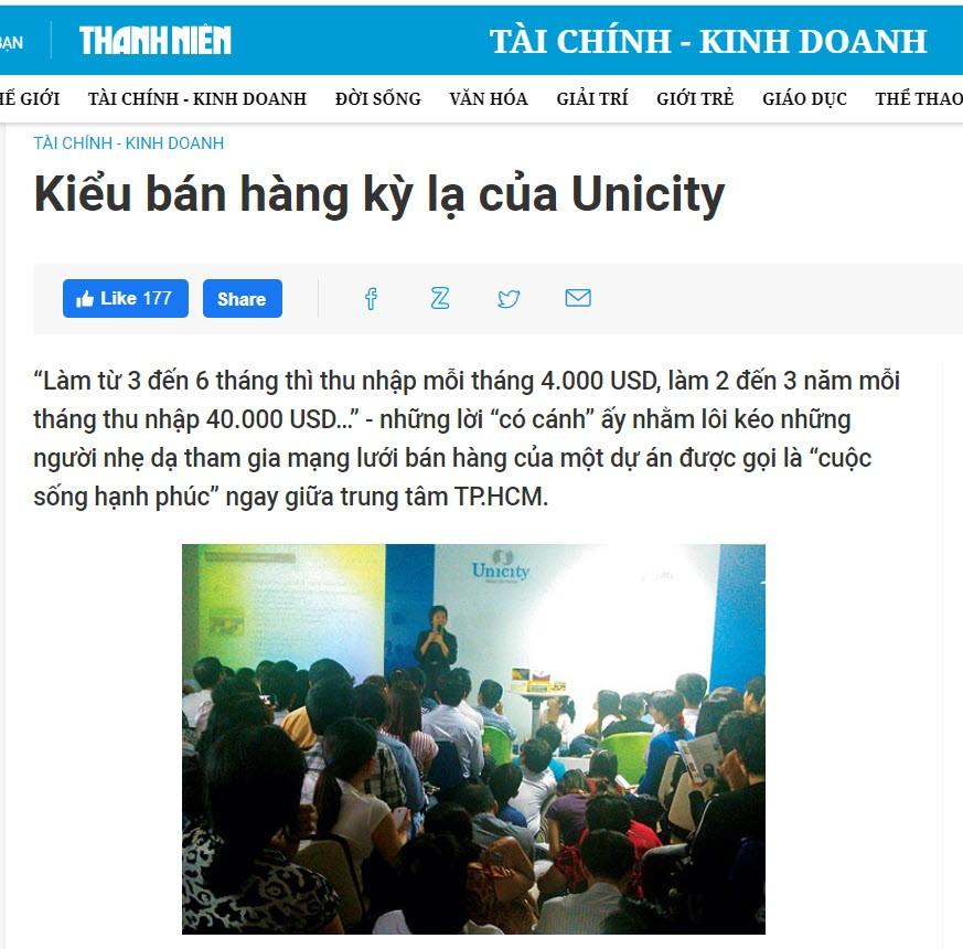 Unicity có lừa đảo không? - Unicity lừa đảo