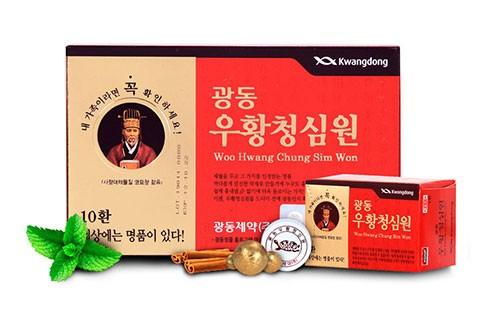 Liều dùng an cung ngưu hoàng hoàn Hàn Quốc - Hướng dẫn cách dùng An cung ngưu hoàng hoàn