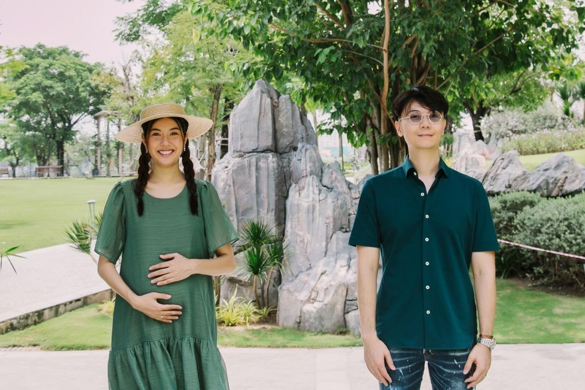 Chồng doanh nhân chăm Thúy Vân kỹ lưỡng khi cô mang thai