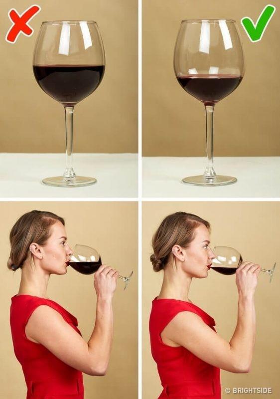 Nguyên tắc số 8: Rót và uống