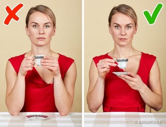 Nguyên tắc số 9: uống trà