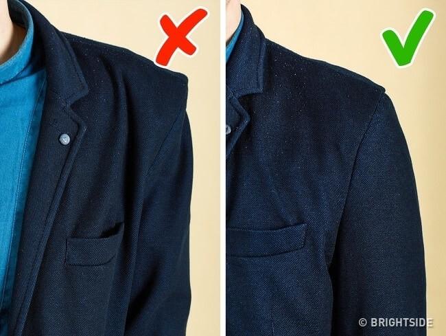 Nguyên tắc sô 4: Quần áo gọn gàng