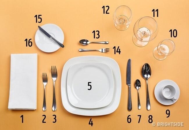 Nguyên tắc số 7: Khi ở nhà hàng