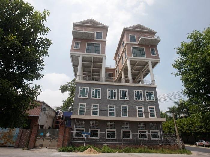 Xem ngay những ngôi nhà độc nhất vô nhị nhất trên thế giới