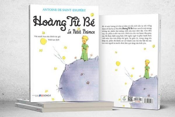 Review Hoàng tử bé - Cuốn sách của trẻ con, tư duy của người lớn