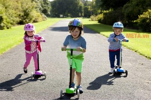Xe trượt Scooter là xe gì? Có nên mua xe trượt Scooter cho bé không?