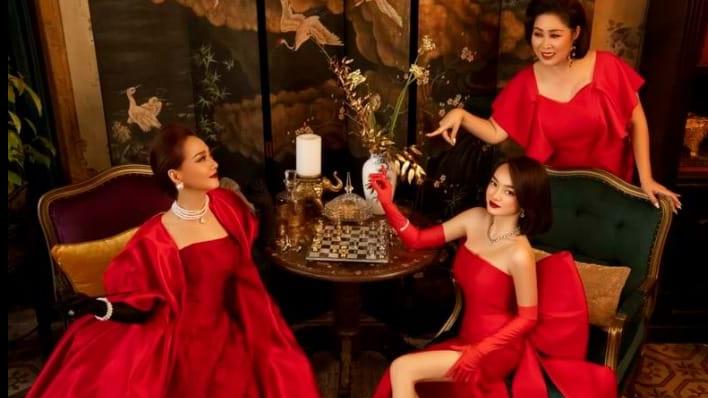 NSND Lê Khanh choáng ngợp vì bối cảnh xa xỉ trong 'Gái già lắm chiêu'